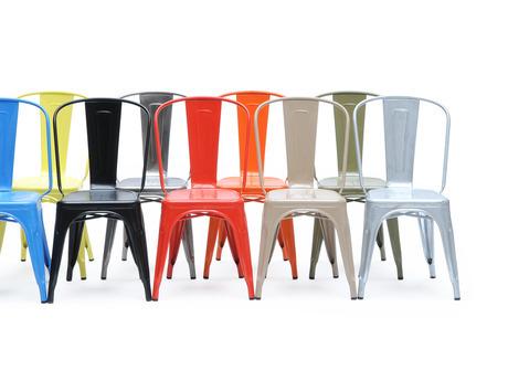 metallstuhl a tolix pierre vian cafe und brasserie. Black Bedroom Furniture Sets. Home Design Ideas